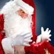 Santa claus with his gift bag — Stock Photo #15775699
