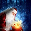 Christmas theme with santa — Stock Photo #15776275