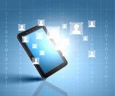 Comunicazione di rete sociale — Foto Stock