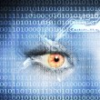 Stock Photo: Digital eye