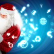 Christmas theme with santa — Stock Photo #16016559