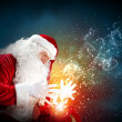 Christmas theme with santa - Foto Stock