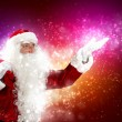 Christmas theme with santa - Stock Photo