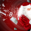 Christmas theme with santa — Stock Photo #16030883