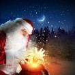 Christmas theme with santa — Stock Photo #16037715