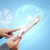 Globale business-netzwerk — Stockfoto