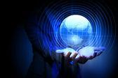 全球业务网络 — 图库照片