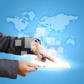 Red global de negocios — Foto de Stock