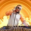Dj and mixer — Stock Photo #16244023