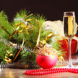 Glass of champagne — Stock Photo #16244165