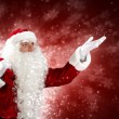 Christmas theme with santa — Foto Stock