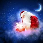 Christmas theme with santa — Stock Photo #16244213