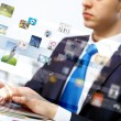 Business technologies today - Stock Photo