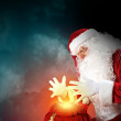Christmas theme with santa — Stock Photo #16357275