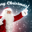 Christmas theme with santa — Stockfoto