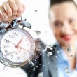 Stock Photo: Time in business