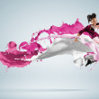 Modern style dancer — Stock Photo #16359301