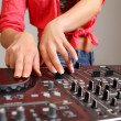 Royalty-Free Stock Photo: Dj mixer