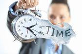 Tempo no negócio — Foto Stock