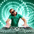 Dj and mixer — Stock Photo #16360605