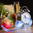 Glass of champagne — Stock Photo #16361461