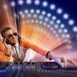 Dj and mixer — Stock Photo #16361901