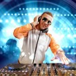 Dj and mixer — Stock Photo #16364383