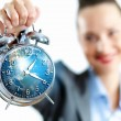 Time in business - Stock Photo