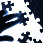 Puzzle pieces — Stock Photo #16365839