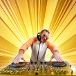 Dj and mixer — Stock Photo #16366073