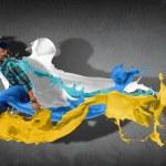 Modern style dancer — Stock Photo #16366077