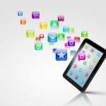 Modern technology media — Stock Photo #16367659