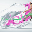 Modern style dancer - Stock Photo