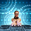 Royalty-Free Stock Photo: Dj and mixer