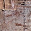 Texture of old wooden wall - Foto Stock