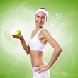 Sport and healthy food — Stock Photo #16369809