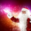 Christmas theme with santa — Foto de Stock