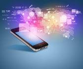 Technologie de communication moderne — Photo