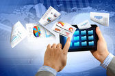 Zakelijke e commerce — Stockfoto