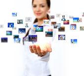 Obchodní technologie dnes — Stock fotografie