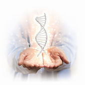 Image of dna strand — Stock Photo