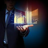 Engineering automatisering bouwontwerp — Stockfoto