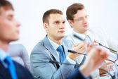 At seminar or conference — Stock Photo