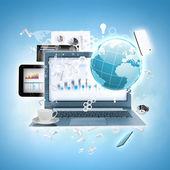 E-business — Foto de Stock