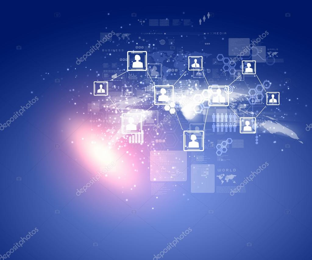 Internet technology concept of global business from concepts series — Stock Photo #16367529
