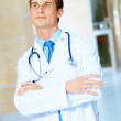 Royalty-Free Stock Photo: Friendly male doctor