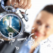 Time in business — Stockfoto
