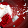 Christmas theme with santa — Stock Photo #16374155