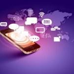 Modern communication technology — Stock Photo #16374467