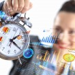 Time in business — Stock Photo